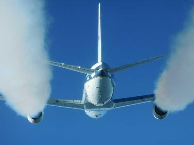 NASA measures effects of jet engine biofuel