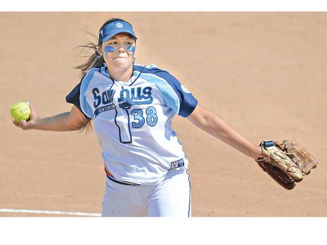 Foothill softball roundup: Centurions unfazed by Vikings
