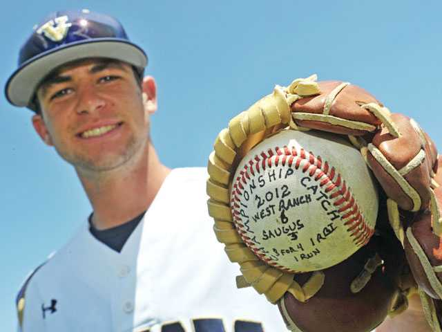 West Ranch baseball's Tony Slauson has made a name for himself on varsity