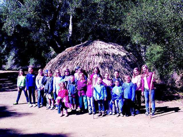 Field trip to the Chumash Center