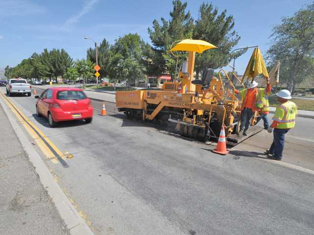 UPDATE: SCV: County road work curbs business owners' traffic