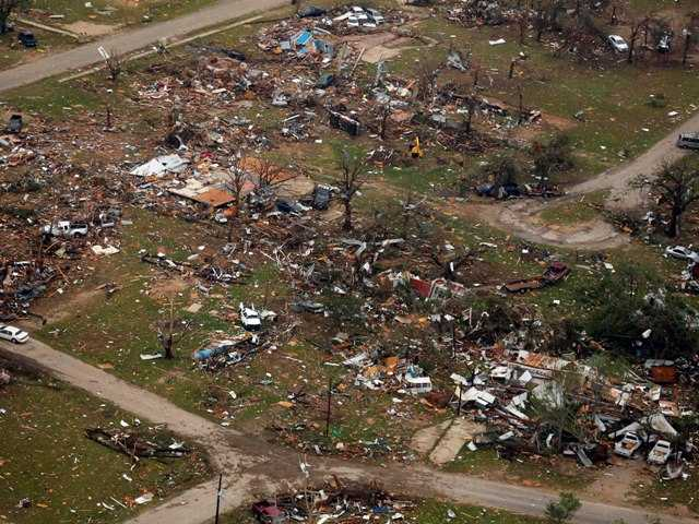Texas tornado devastation includes Habitat homes