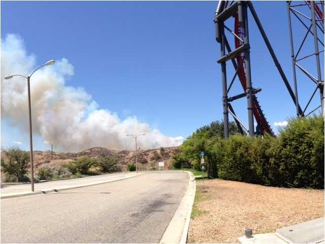 UPDATE: Magic Mountain fire doused after blackening 149 acres
