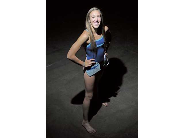 All-Santa Clarita Valley Girls Swim: Saugus' Abbey Weitzeil