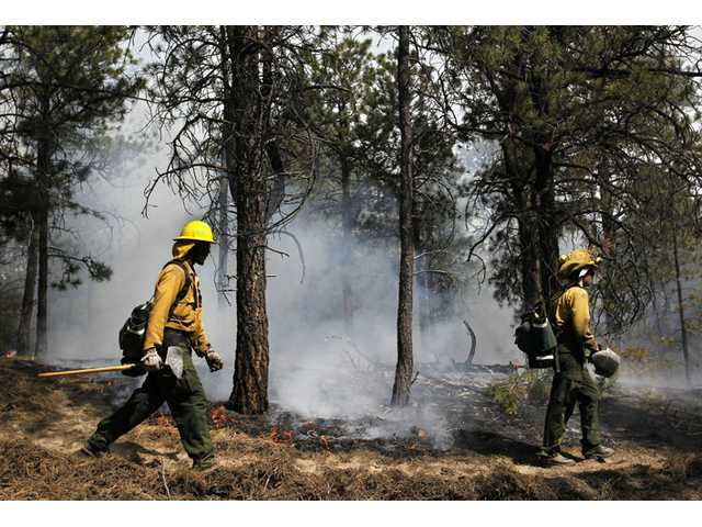 Crews battling Colo. wildfire hold flames in check