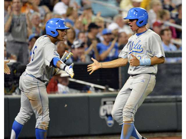 UCLA baseball wins first game of College World Series