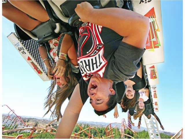 'Full Throttle' launches at Six Flags Magic Mountain