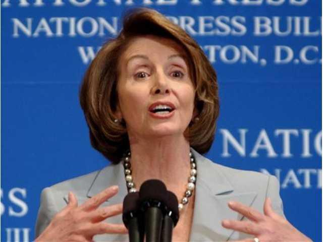 Pelosi's defense of NSA surveillance draws boos