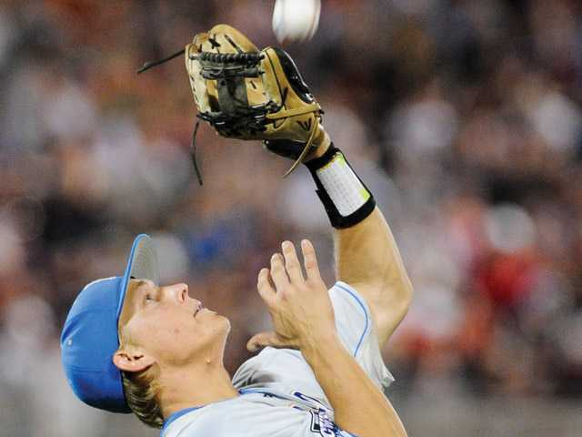 College World Series: UCLA nears a title