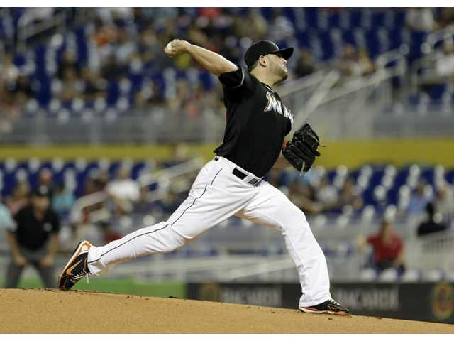 Dodgers acquire Ricky Nolasco from Marlins