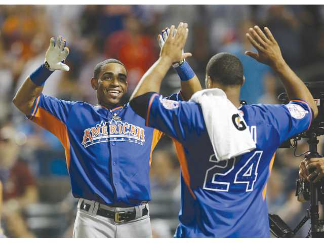 Yoenis Cespedes wins Home Run Derby