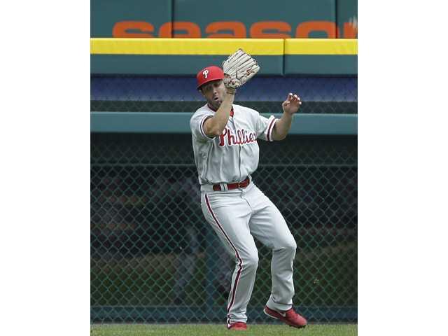Ex-Hart Indian Steve Susdorf gets first MLB hit