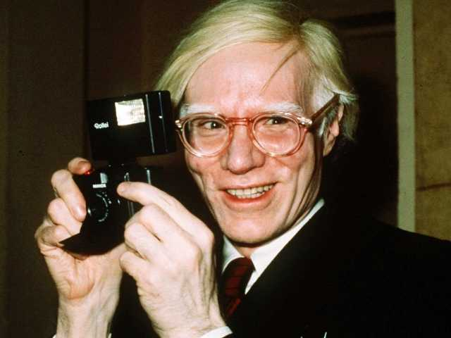 Webcam to broadcast from Andy Warhol's Pa. grave