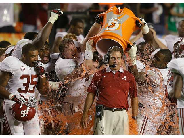 Roll Tide! Alabama No. 1 in AP preseason poll