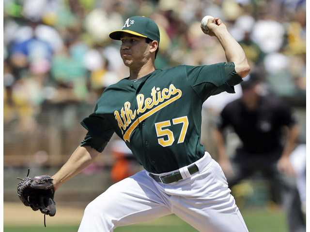 Tommy Milone called up to start for A's