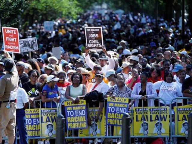 Marching for King's dream: 'The task is not done'