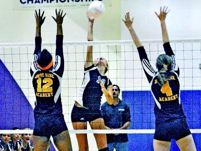 Valencia girls volleyball rebuilding, but they're winning too