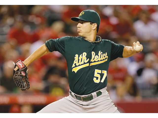 Tommy Milone, A's keep rolling