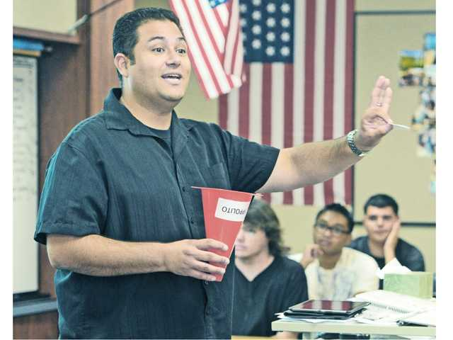 West Ranch instructor honored as Hart district's 'teacher of the year'