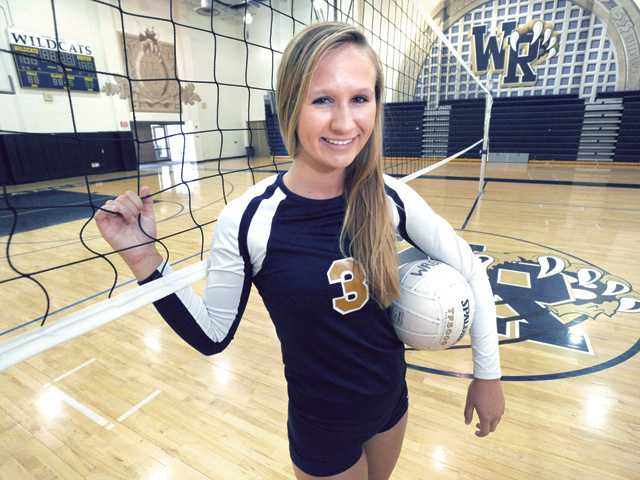 West Ranch's Haley Lind: The calm amid the storm