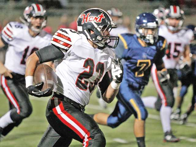 Next stop for Hart football: Foothill League