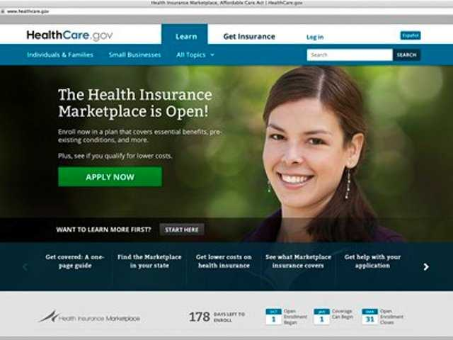 Health care website gets down time for repairs
