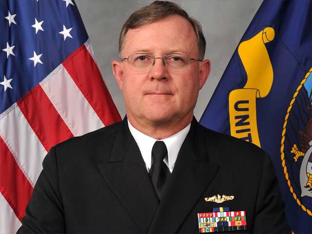 3-star admiral fired as No. 2 nuclear commander