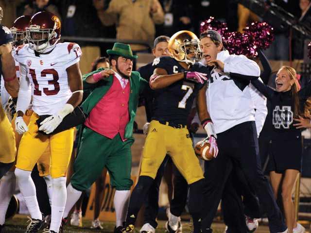Notre Dame knocks USC down a notch