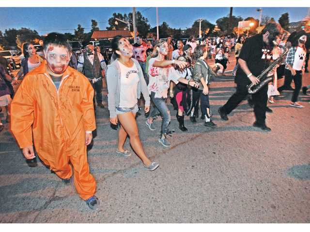 Annual 'Zombie March' raises donations of money, food for those in need