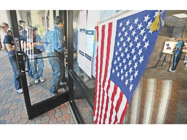 Sparse ballot on tap for Tuesday's elections