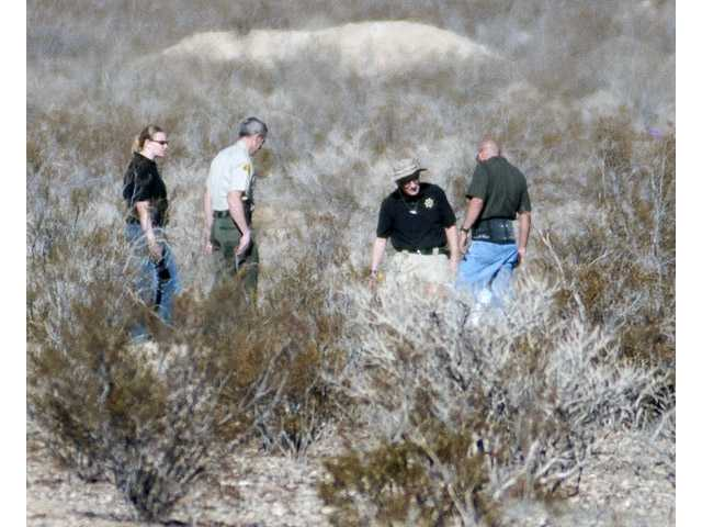 Bodies in desert believed to be missing family