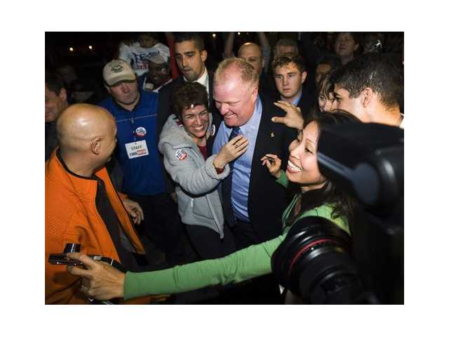 Toronto mayor in crisis; some backers stay loyal