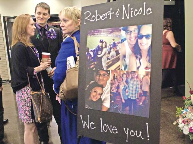Couple remembered in 'celebration of life' service