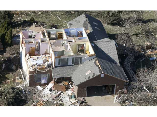 After twisters, damaged communities come together