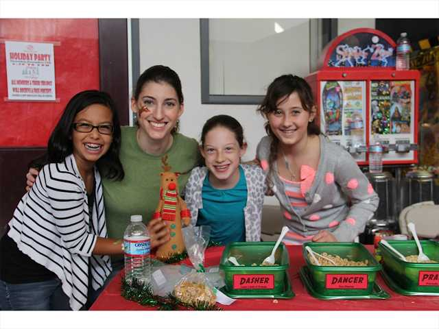 Community goes above and beyond for foster kids' Christmas party