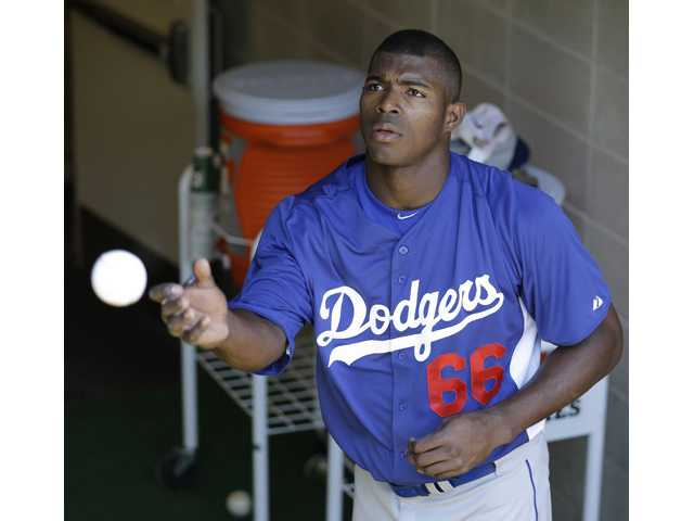 Dodgers' Puig arrested