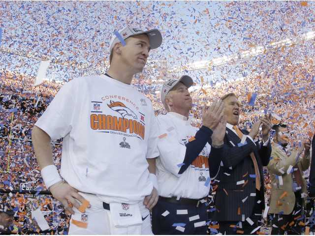 Broncos to play on Super Bowl Sunday