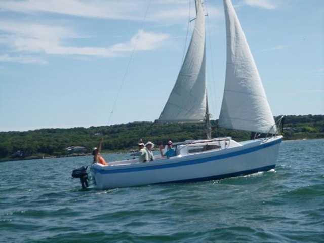 Rough, open sea tests every skill of a sailboat captain