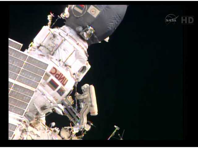 Astronauts repeat spacewalk with mixed results