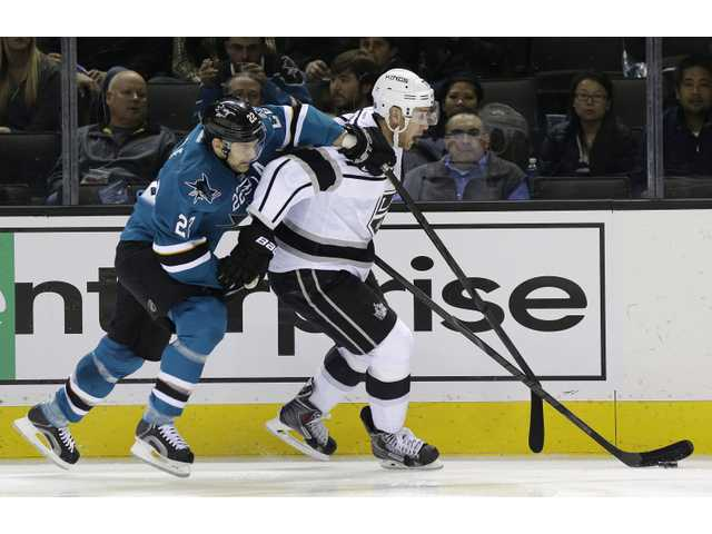 Kings win in San Jose