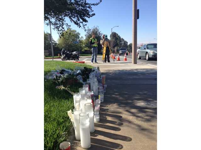 UPDATE: Sheriff's Department traffic investigators map scene of fatal collision