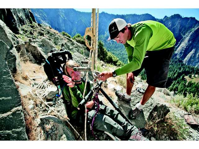 Cerebral palsy hero climbs El Capitan