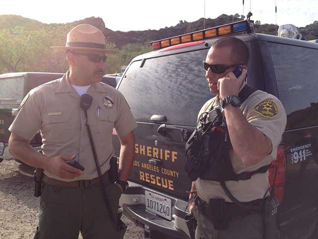 UPDATE: Missing hiker found in Towsley Canyon after overnight ordeal