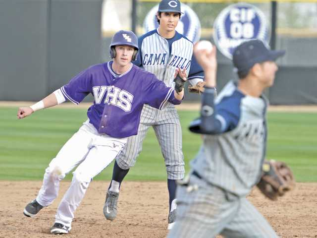 Valencia baseball all business in win