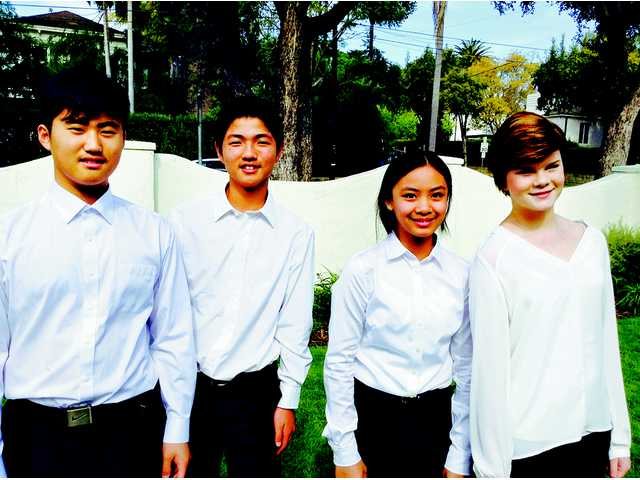 Four Local Students Perform With Western U.S. Honor Choir