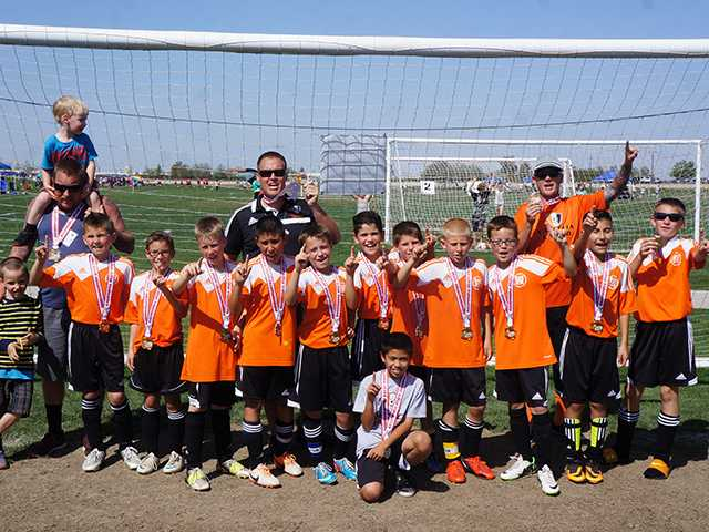 Youth soccer team goes undefeated and breaks 44-year record