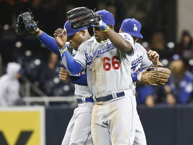 Ramirez, Haren lead Dodgers over Padres, 5-1