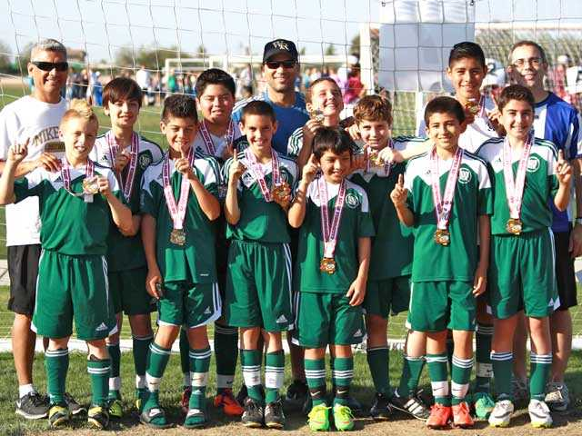 Canyon Country AYSO team claims State Championship