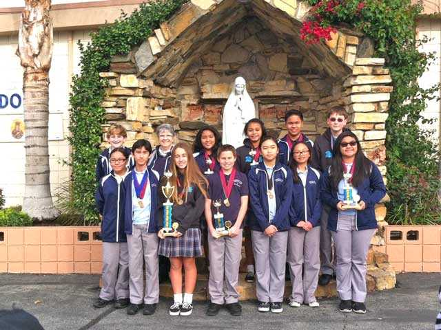 OLPH Competes In Academic Decathlon