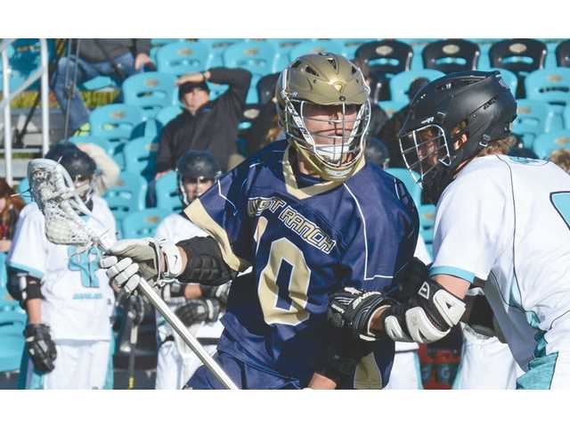 West Ranch lacrosse player breaks state record